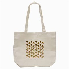 Chihuahua Pattern Tote Bag (cream)