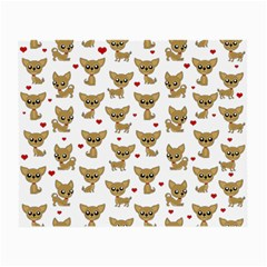 Chihuahua Pattern Small Glasses Cloth (2 Side)