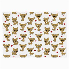 Chihuahua Pattern Large Glasses Cloth (2 Side)