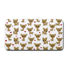 Chihuahua Pattern Medium Bar Mats