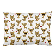 Chihuahua Pattern Pillow Case