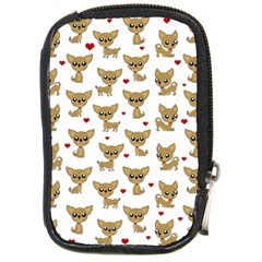 Chihuahua Pattern Compact Camera Cases