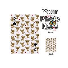 Chihuahua Pattern Playing Cards 54 (mini)