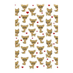 Chihuahua Pattern Shower Curtain 48  X 72  (small)