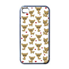 Chihuahua Pattern Apple Iphone 4 Case (black)