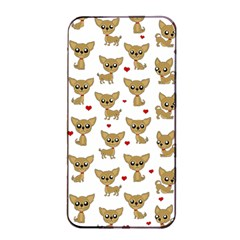 Chihuahua Pattern Apple Iphone 4/4s Seamless Case (black)