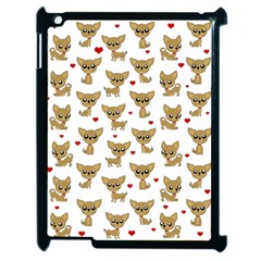 Chihuahua Pattern Apple Ipad 2 Case (black)