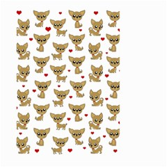 Chihuahua Pattern Large Garden Flag (two Sides)