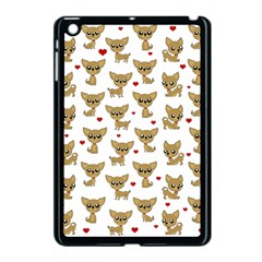Chihuahua Pattern Apple Ipad Mini Case (black)