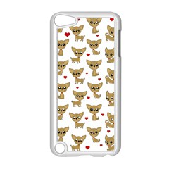 Chihuahua Pattern Apple Ipod Touch 5 Case (white)