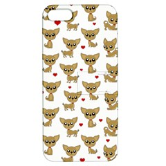 Chihuahua Pattern Apple Iphone 5 Hardshell Case With Stand