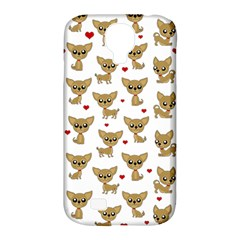 Chihuahua Pattern Samsung Galaxy S4 Classic Hardshell Case (pc+silicone)