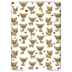 Chihuahua Pattern Apple Ipad Pro 9 7   Hardshell Case