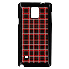 Coke Tartan Samsung Galaxy Note 4 Case (black)