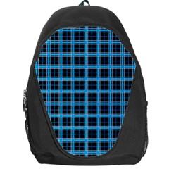 Deep Sea Tartan Backpack Bag