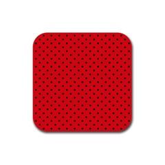 Ladybug Rubber Coaster (square)