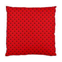 Ladybug Standard Cushion Case (two Sides)