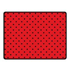 Ladybug Fleece Blanket (small)