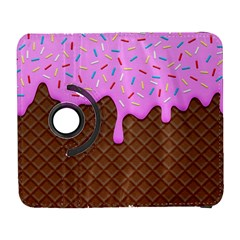 Chocolate And Strawberry Icecream Galaxy S3 (flip/folio)