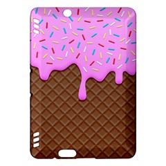 Chocolate And Strawberry Icecream Kindle Fire Hdx Hardshell Case