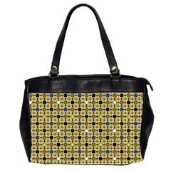 Persian Blocks Desert Office Handbags (2 Sides)