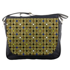 Persian Blocks Desert Messenger Bags