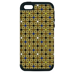 Persian Blocks Desert Apple Iphone 5 Hardshell Case (pc+silicone)