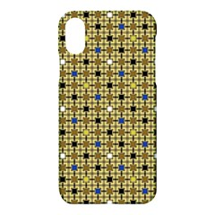 Persian Blocks Desert Apple Iphone X Hardshell Case