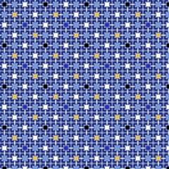 Persian Block Sky Magic Photo Cubes