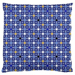 Persian Block Sky Large Cushion Case (two Sides)