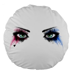 Look Of Madness Large 18  Premium Round Cushions
