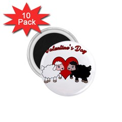 Valentines Day   Sheep  1 75  Magnets (10 Pack)