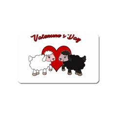 Valentines Day   Sheep  Magnet (name Card)