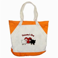 Valentines Day   Sheep  Accent Tote Bag