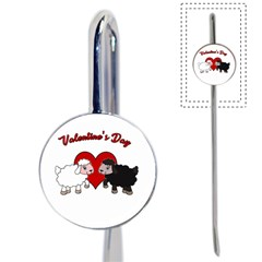 Valentines Day   Sheep  Book Mark