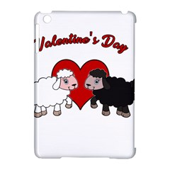 Valentines Day   Sheep  Apple Ipad Mini Hardshell Case (compatible With Smart Cover)
