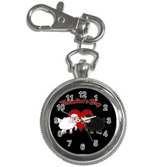 Valentines Day   Sheep  Key Chain Watches