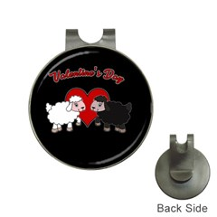 Valentines Day   Sheep  Hat Clips With Golf Markers