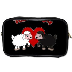 Valentines Day   Sheep  Toiletries Bags 2 Side