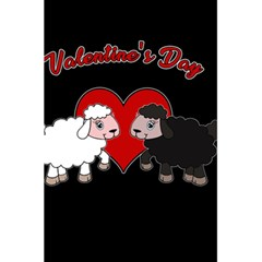 Valentines Day   Sheep  5 5  X 8 5  Notebooks