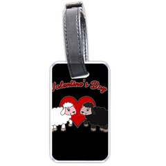 Valentines Day   Sheep  Luggage Tags (one Side)