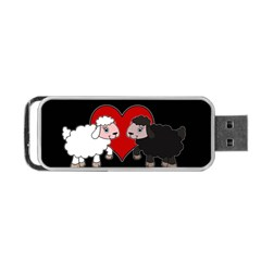 Valentines Day   Sheep  Portable Usb Flash (two Sides)