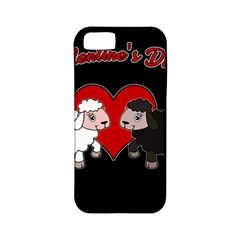 Valentines Day   Sheep  Apple Iphone 5 Classic Hardshell Case (pc+silicone)