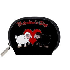 Valentines Day   Sheep  Accessory Pouches (small)
