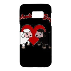 Valentines Day   Sheep  Samsung Galaxy S7 Hardshell Case
