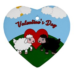 Valentines Day   Sheep  Ornament (heart)
