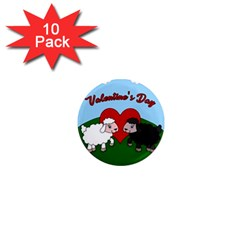 Valentines Day   Sheep  1  Mini Magnet (10 Pack)
