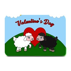 Valentines Day   Sheep  Plate Mats