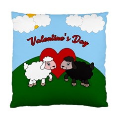 Valentines Day   Sheep  Standard Cushion Case (one Side)