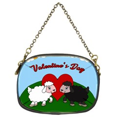 Valentines Day   Sheep  Chain Purses (two Sides)